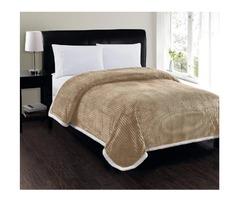 Softest, Luxury Micro-Sherpa Blanket