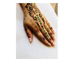 Henna Feminine tattoo stencils