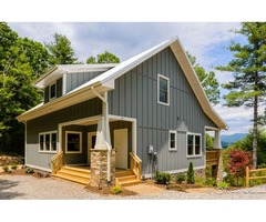 Newly Built Mountain Cabin With Views, Privacy And 10 Min From Downtown!