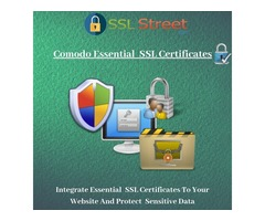 Comodo Essential SSL Certificate With 30 days Free Trial And  258 Bit Encryption