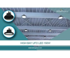 Replace Classic Warehouse Lights with Smart and Effective 150w LED UFO High Bay Lights