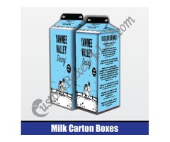 Milk Carton Boxes | Custom Boxes | CustomBoxes4Less