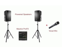 Sound Equipment Rental, Sound System Maryland