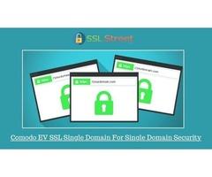 Boost Conversions On Your E-commerce Website With Comodo EV SSL Single Domain