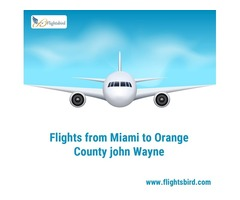 Search Direct flights from MIA to SNA