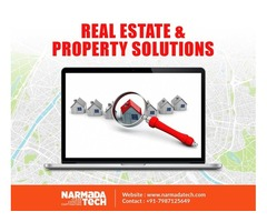Real estate and property industries website solutions - Narmadatech