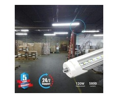 Buy 8ft LED Tube Lights to Make an Appealing Impression on Your Guests