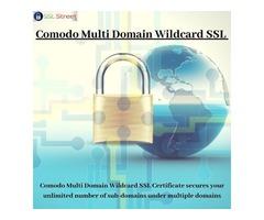 Comodo Multi Domain Wildcard SSL Certificate For Unlimited Domain Security
