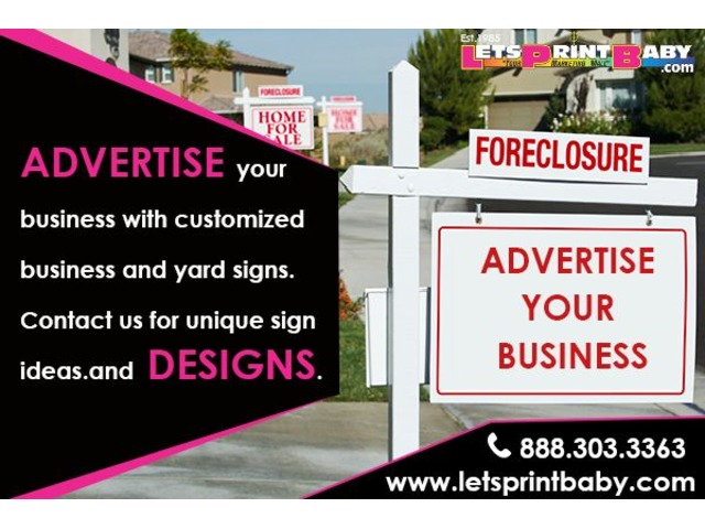 Yard sign design | free-classifieds-usa.com