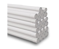 Schedule 20 Central Vacuum Pipe 2-Inch O.D. - Box Of 25 - 125 Feet - FlowMax: What Professionals Use