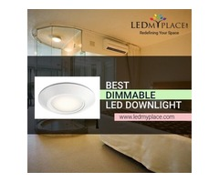 Use Baffle Shaped Dimmable LED Downlights to Reduce Light Glare