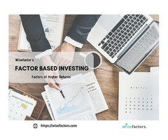 Factor Based Investing | Digital Investing - Wisefactors