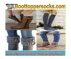 Boot Cuffs, Socks for Man, Women | Free Shipping And Returns
