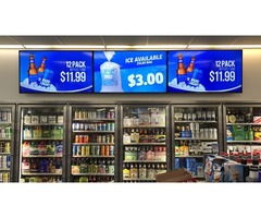Origin's Latest Digital Signage Solution for Grocery Store