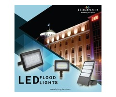 Create a Well lit Outdoors with Highly Energy Efficient LED Flood Lights