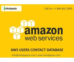 AWS Users Contact Database - AWS Customers List-Infodepots