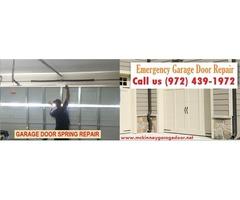 Commercial Garage Door Repair Spring Installation and Repair Starting $25.95 – McKinney, 75069, TX