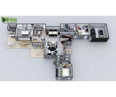 Build your wonderful vision 3d floor plan design.