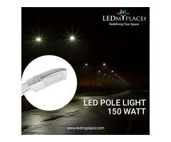 Buy Black LED Pole Light 150W at amazing price - ON SALE