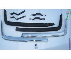 Mercedes W107 Chrome bumper type Euro in stainless steel