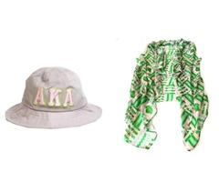Alpha kappa alpha sorority hat