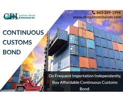 How Much Does A Continuous Customs Bond Cost?