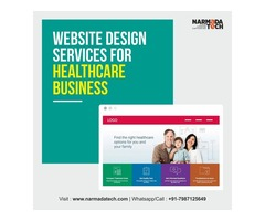 Website Design Services For HealthCare Business