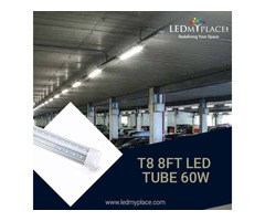 Purchase Now! 60w 8ft LED Integrated Tubes for Graceful Indoor Ambience.