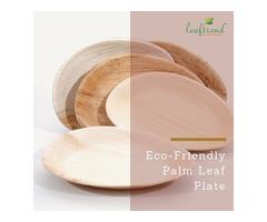 Natural Teardrop Plate Set