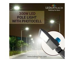 Purchase Now! 300w LED Pole Lights  for Graceful Outdoor Ambience