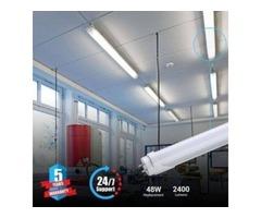 Install 5000K T8 4ft 18W LED Tubes for Indoor Lighting Needs
