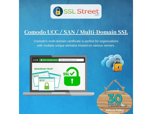 Get Highest Encryption And Secure Your Multiple Domain With Comodo UCC / SAN / Multi-Domain SSL | free-classifieds-usa.com