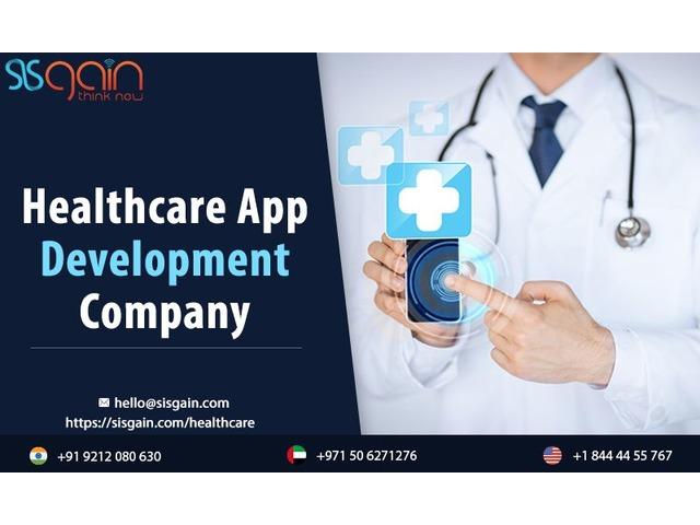 Get the Top Healthcare App Development Company | SISGAIN | free-classifieds-usa.com