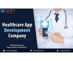 Get the Top Healthcare App Development Company | SISGAIN