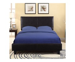 Affortable Queen size Upholstered Platform Bed• Furniture Coast to Coast