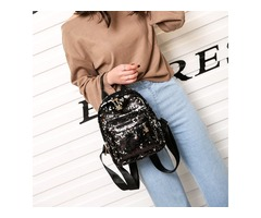 Fashion Shining Sequins Backpack