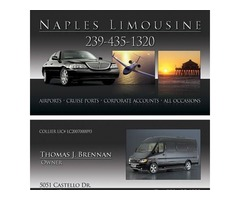 Choose Luxury Sedan Car Service |Naples |Naples Limousine