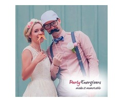 Hiring Party Energizers Photo booths and Avail 50% Off