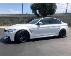 2015 BMW M3 MINERAL WHITE SAKHIR ORANGE
