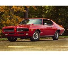 1969 Pontiac GTO 2 door Hardtop