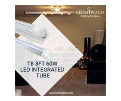 Buy Cost-Saving T8 8FT 60W LED Integrated Tube For Indoor