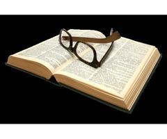 Book Translation Services. Novel Translation. Memoir/Biography Translation.