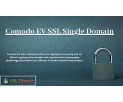 Secure Your Website & Customer's Transaction With Comodo EV SSL Single Domain