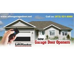 Local 1 hrs Garage Door Opener System Repair and Installation in Allen 75071, TX - $25.95