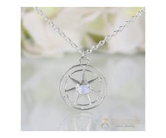Moonstone Necklace - Spirit Keeper - GSJ