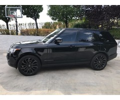 2014 Land Rover Range Rover Supercharged Sport Utility 4-Door