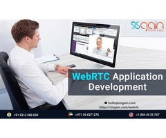 Get the Top WebRTC development company in USA | SISGAIN