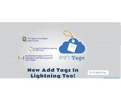 Salesforce Pin Tag App