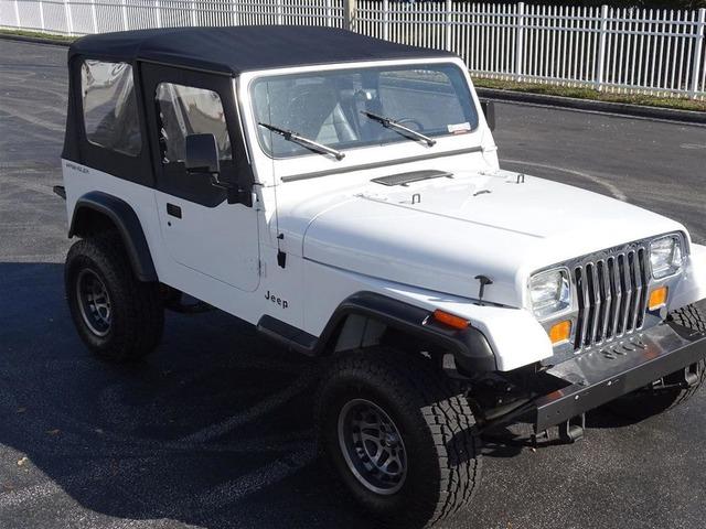 1991 Jeep Wrangler S YJ 4WD