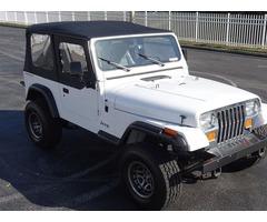 1991 Jeep Wrangler S/YJ 4WD